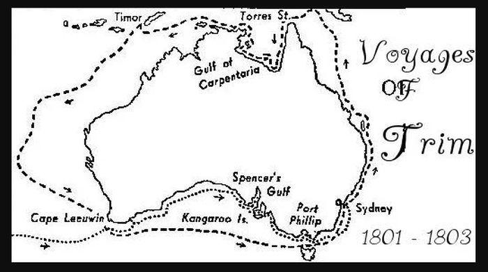 trim's Voyage around Australia