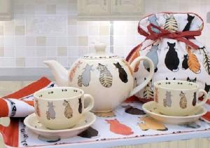 Cat Theme Tea Service